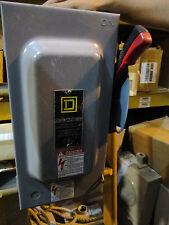 Square D H362 60 Amp 600 Volt Fusible NEMA 1 Disconnect, F Series