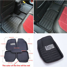 Universal 5 x Car SUV Floor Mat Floorliner Front and Rear Carpet Mat All Weather