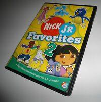 Nick Jr. Favorites Vol. 2 Dora Explorer Blue's Clues Nickelodeon (DVD) Kids Two