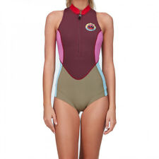 BNWT BILLABONG LADIES SALTY DAZE SPRINGSUIT ONE PIECE (8) MULBERRY RRP $140