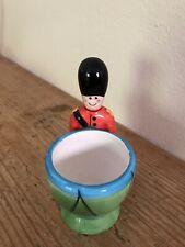 Ceramic Novelty Soldier Egg Cup