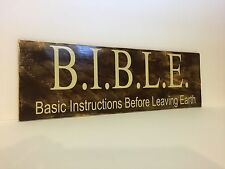 Bible - Basic Instructions Before Leaving Earth Sign