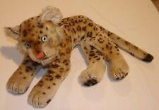 vintage Mohair Steiff Leopard Mid 1900's Authentic Steiff