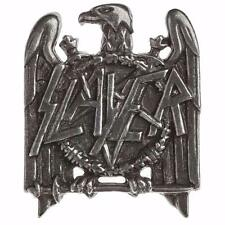 SLAYER EAGLE LOGO BADGE Metal Pin Brooch Pewter ALCHEMY ROCKS OFFICIAL MERCH