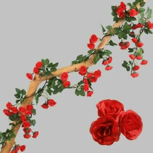 Artificial Rose Flowers Wedding Arch Garland Decor Romantic Valentines Day Gifts