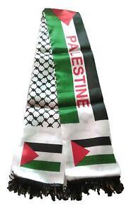 Unisex PALESTINE Fashion Scarf - Al Aqsa Mosque Photo Palestine Word In English