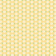 Printed Bow Fabric A4 Canvas Easter Daisy Spring ES23 Make glitter hair bows
