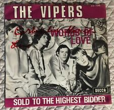 The Vipers Belgium PS 45 0riginal. Electric Prunes Song