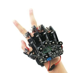 Open Source Glove/Wearable Mechanical Glove/Somatosensory Control of Exoskeleton