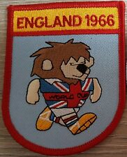 WORLD CUP WILLIE 1966 ENGLAND PATCH FREE POSTAGE UK