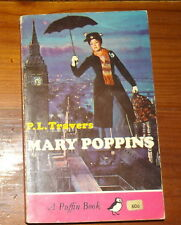 Mary Poppins P L Travers Puffin Penguin 1966 Julie Andrews Movie Cover