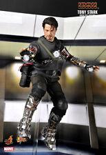 Hot Toys Iron Man Tony Stark Mech Test 12 Inch 1/6 Scale MMS116 Robert Downey Jr