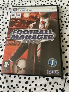 Football Manager 2008  (PC CD ROM )  - Complete