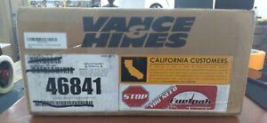 Vance & Hines Twin Slash 3in. Slip-Ons Black 46841