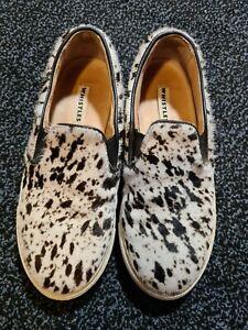 Whistles Fur Pumps Shoes Size 4 (37)
