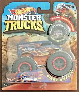 Hot Wheels Monster Trucks #1/16 Hot Wheels Dairy Delivery #FYJ45 1:64 Scale