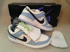 NEW 2006 Nike Dunk Low 7.5 Premium SB GOLF Midnight Navy Blue Ice 313170 141