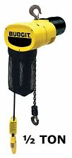 CMCO - BUDGIT BEHC MANGUARD ELECTRIC CHAIN HOIST - 1/2 TON CAPACITY, 16 FPM