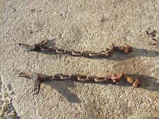 Ford 9N 2N 8N tractor 3pt bottom arm sway chain chains / mini clips clips ) pins