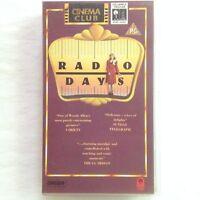 Radio Days VHS Video Tape Woody Allen Cinema Club Orion Film