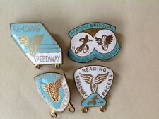 COLLECTION READING RACERS SPEEDWAY BADGES - MARKED REEVES