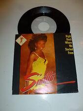 "SINITTA - Right Back Where We Started From - 1989  Dutch 7"" Juke Box Single"