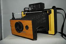 Polaroid Automatic 104 beautiful custom yellow ,fp100c,converted aaa,lomography
