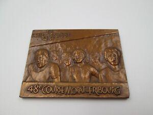 Medalla bronce V Centenario Adhesión Friburgo a la Confederación Helvética. 1981
