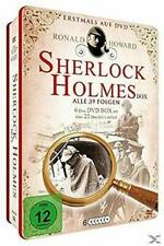 Sherlock Holmes Collectors DVD Metalbox - TV Series - Mark Of Four - Baskerville