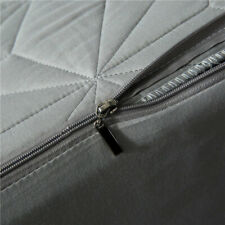 Waterproof Mattress Cover Zipper Queen Full Quilted Dust Fitted Sheet Protector
