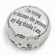 DESK ACCESSORIES - DOG OWNERS MANTRA PAPERWEIGHT