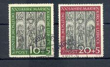 GERMANY BUND 1951 MI# 139/140--CV € 165 --USED LUXE