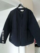 Marks and spencer per una ladies navy blue jacket size 22 worn once