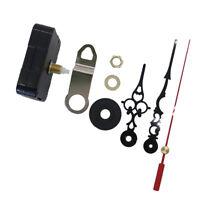 Professional Quartz Wall Clock Movement Mechanism DIY Kit with Long Hands