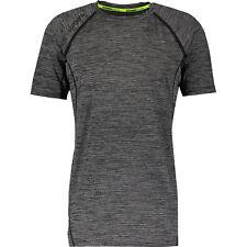 SUPERDRY Sport Men's Sport Athletic Vent T-Shirt, Black Grit Stripe, size XS