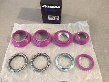 "OLD SCHOOL BMX TIOGA BEARTRAP 2 HEADSET GT LAVENDER 1"" threaded NEW tange"