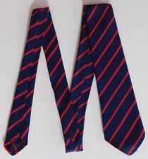 Vintage striped Tootal ties boys girls primary prep school uniform UNUSED 1950s