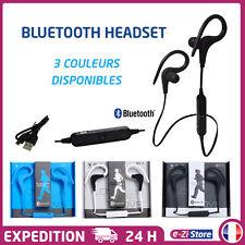 ÉCOUTEURS CASQUE HEADSET BLUETOOTH SPORT STEREO SANS FIL POUR SMARTPHONE BT-1