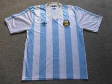 ARGENTINA L 1990/91 ADIDAS Maglietta Da Calcio Soccer jersey camiseta KIT TOP GC