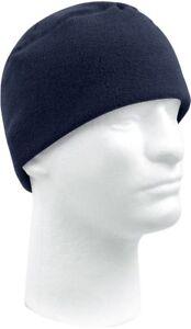 Military Polar Fleece Beanie Watch Cap Cold Weather Skull Warm Winter Hat