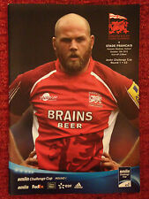 London Welsh v Stade Francais - Rugby Programme - Played October 13th 2012