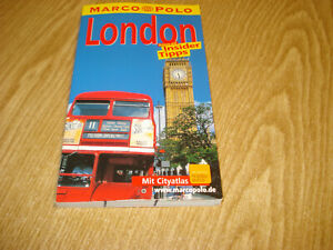 Buch#1849 Marco Polo London Insider Tips 2000 9783829701488 2004 Großbritanien