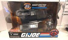 GI JOE ~ 2008 NIGHT SPECTER & SILVER PADS GRAND SLAM ~ MISB MIB ~ 25TH