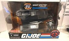 GI JOE ~ 2008 NIGHT SPECTER with GRAND SLAM ~ MISB MIB ~ 25TH ANNIVERSARY