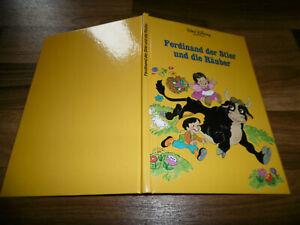 Walt Disney -- FERDINAND der STIER und die RÄUBER // Bilderbuch v. Horizont 1990