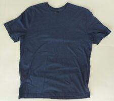 St. John's Bay Legacy Tee Basic T-Shirt Size Medium Blue Short Sleeve Crewneck