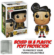 Funko POP! Movies ~ MANOLO FIGURE w/Protector Case ~ Book of Life ~ Retired