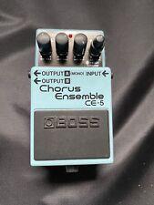 TOP:BOSS CHORUS ENSEMBLE C-5 - Gitarreneffekt - Effektgerät - Gitarre