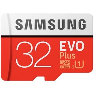 Genuine Samsung SD 32GB microsd SDHC U3 Class 10 memory card EVO Plus 100MB/s TF