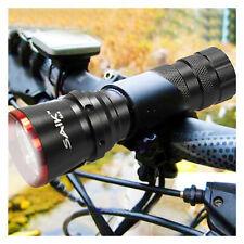 806 Cree LED Lampe Sécurité Avant Feu Eclairage De Vélo Bicyclette+Support-Rouge
